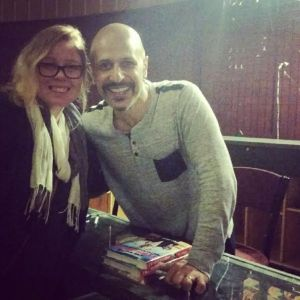 It was so amazing to get to meet the amazing comedian that is Maz Jobrani.