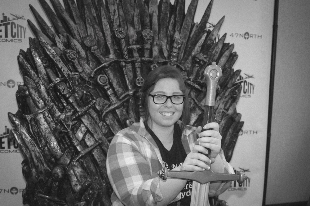 Me conquering the Iron Throne with Ice