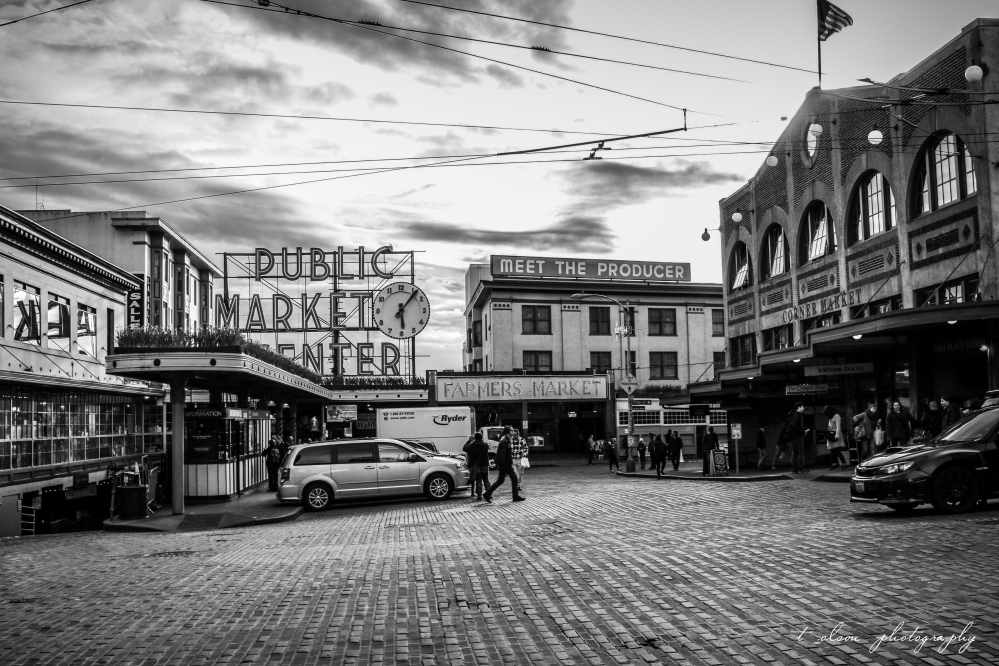 Pike Place Market. Seattle, WA