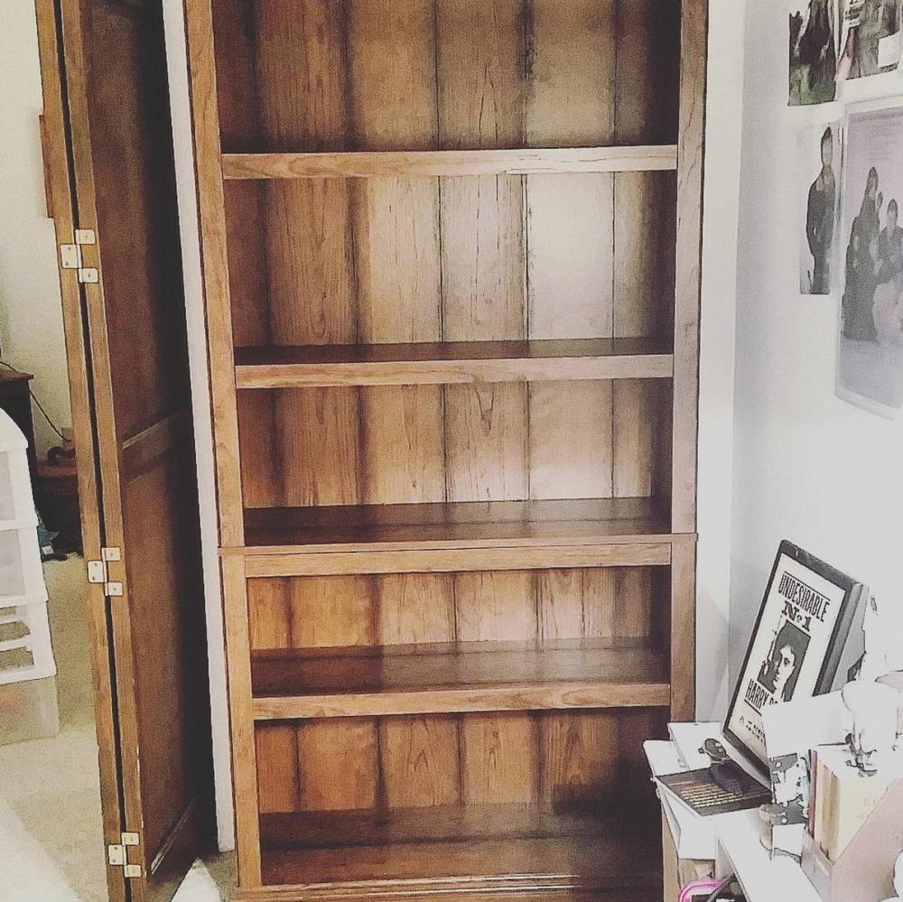 I built a book shelf!