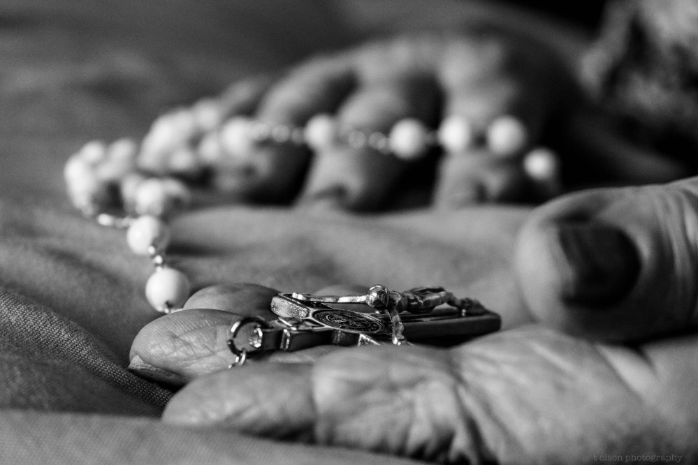 Grandmother's rosary, 2015